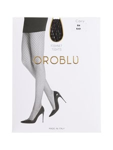 Oroblu - Carry-verkkosukkahousut - BLACK | Stockmann