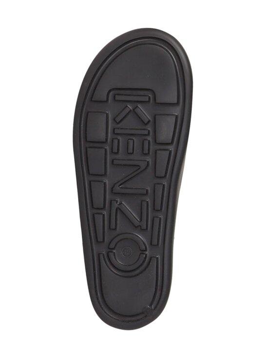 Kenzo - Beach Slide Tiger Head -sandaalit - 99 - TIGER HEAD PVC - BLACK   Stockmann - photo 3