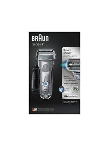 Braun - Series 7 7897cc Wet & Dry -parranajokone - SILVER (MUSTA/HOPEA) | Stockmann