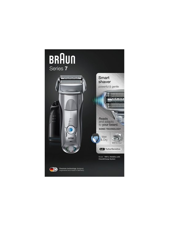 Braun - Series 7 7897cc Wet & Dry -parranajokone - SILVER (MUSTA/HOPEA) | Stockmann - photo 1