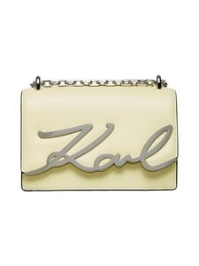 Karl Lagerfeld - K/Signature Small Shoulderbag -nahkalaukku - A723 BUTTER   Stockmann