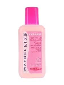 Maybelline - Express Nail Polish Remover -kynsilakanpoistoaine 125 ml | Stockmann