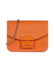 Furla - Metropolis Mini Crossbody -nahkalaukku - BG600 ORANGE I | Stockmann