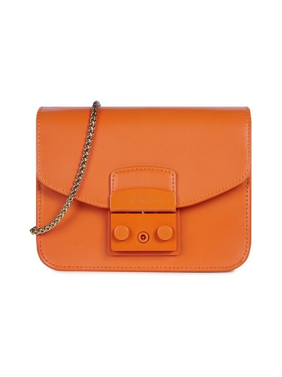 Furla - Metropolis Mini Crossbody -nahkalaukku - BG600 ORANGE I | Stockmann - photo 1