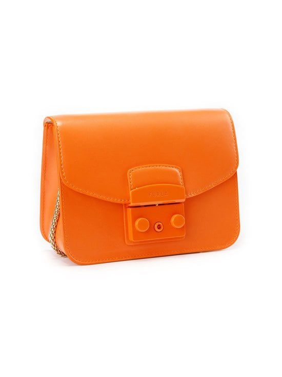 Furla - Metropolis Mini Crossbody -nahkalaukku - BG600 ORANGE I | Stockmann - photo 2