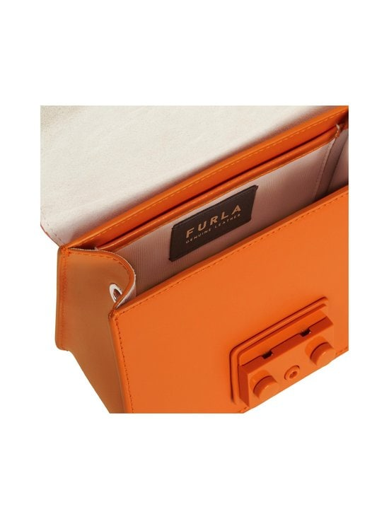 Furla - Metropolis Mini Crossbody -nahkalaukku - BG600 ORANGE I | Stockmann - photo 4