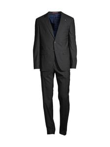 Tommy Hilfiger Tailored - Slim Fit FKS -puku - 0GL BLACK/CHARCOAL | Stockmann