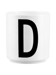 Design Letters - Kirjainmuki, D - VALKOINEN/MUSTA | Stockmann
