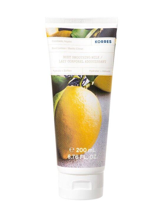 Korres - Basil Lemon Body Milk -vartalovoide 200 ml - NOCOL   Stockmann - photo 1