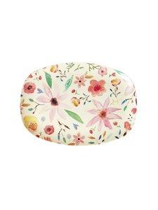 Rice - Selmas Flower -lautanen 22 x 30 cm - MULTICOLOR | Stockmann