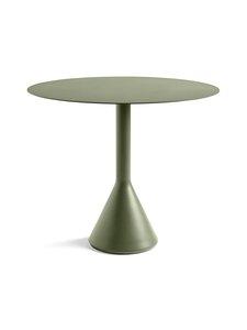 HAY - Palissade Cone -pöytä ⌀ 90 cm - OLIVE (OLIIVINVIHREÄ) | Stockmann