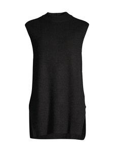 cut & pret - Avianna Ribbed Knit -liivi - BLACK SOLID | Stockmann