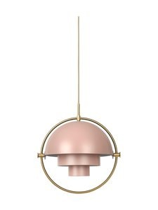 Gubi - Multi-Lite Pendant -riippuvalaisin - ROSE DUST SEMI MATT | Stockmann