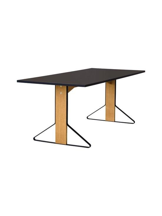 Artek - REB001 Kaari -pöytä, linoleum - BLACK LINOLEUM/NATURAL OAK (MUSTA/TAMMI) | Stockmann - photo 1