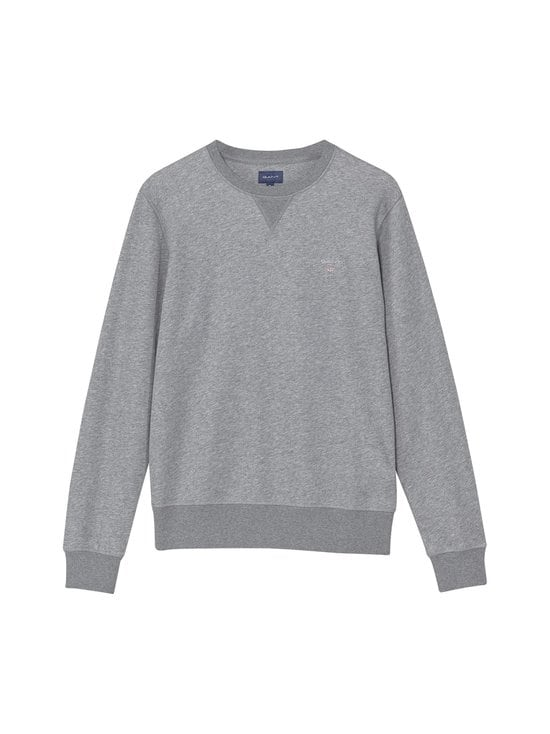 GANT - The Original C-Neck -collegepaita - DARK GREY MELANGE | Stockmann - photo 1