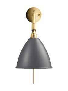 Gubi - Bestlite BL7 Wall Lamp -seinävalaisin - GREY SEMI MATT | Stockmann
