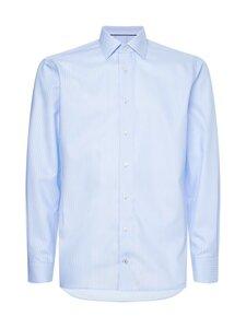 Tommy Hilfiger Tailored - Non Iron Stripe -kauluspaita - 0A4 BLUE/WHITE   Stockmann