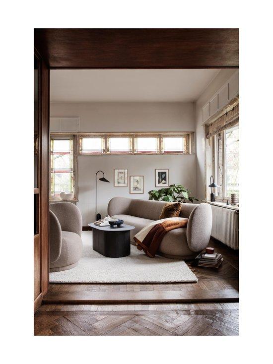 Ferm Living - Rico 3 Seater Bouclé -sohva - WARM DARK GREY   Stockmann - photo 2
