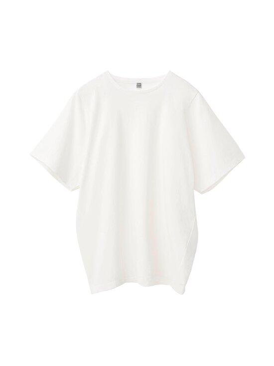 Totême - Oversized Cotton Tee -paita - OFF-WHITE | Stockmann - photo 1