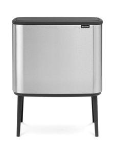 Brabantia - Bo Touch Bin -roska-astia kahdella sisäastialla - MATT STEEL (TERÄS) | Stockmann