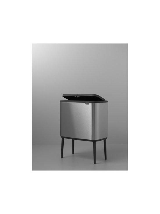 Brabantia - Bo Touch Bin -roska-astia kahdella sisäastialla - MATT STEEL (TERÄS) | Stockmann - photo 3
