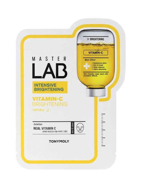 TONYMOLY - Master Lab Sheet Mask Vitamin C -kasvonaamio - NOCOL | Stockmann - photo 1