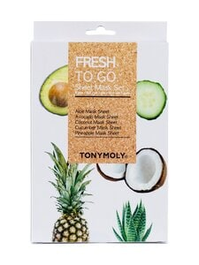 TONYMOLY - Fresh To Go Sheet Mask Set -naamiopakkaus | Stockmann