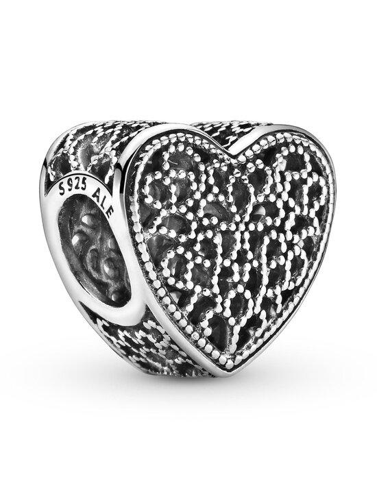 Pandora - Openwork Heart Silver Charm - SILVER | Stockmann - photo 1