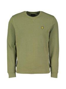 Lyle & Scott - Crew Neck Sweatshirt -collegepaita - Z801 LICHEN GREEN | Stockmann