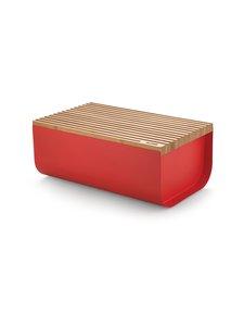 Alessi - Mattina Bread Box -leipälaatikko - RED/BAMBOO | Stockmann