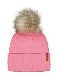 Metsola - Folded Beanie FUR -pipo - 23 ROSEWATER | Stockmann