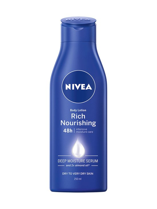 NIVEA - Rich Nourishing Body Milk -vartaloemulsio kuivalle iholle 250 ml | Stockmann - photo 1