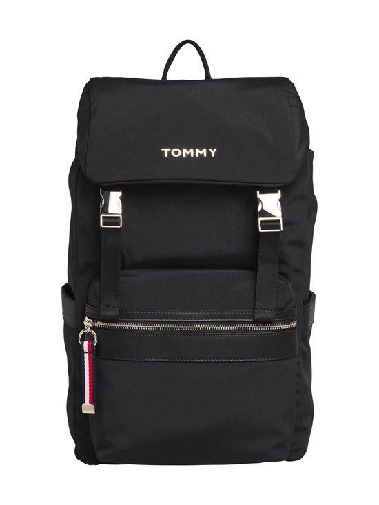 Tommy Hilfiger - Nylon Metal Logo Backpack -reppu - BDS BLACK | Stockmann - photo 1