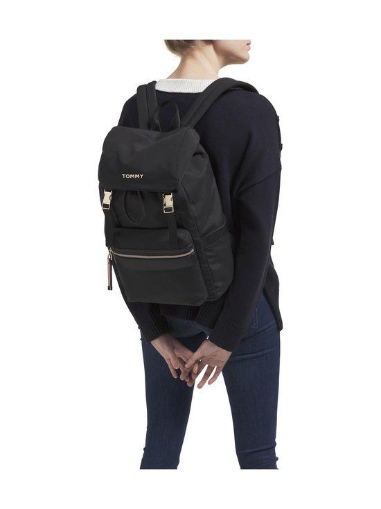 Tommy Hilfiger - Nylon Metal Logo Backpack -reppu - BDS BLACK | Stockmann - photo 3