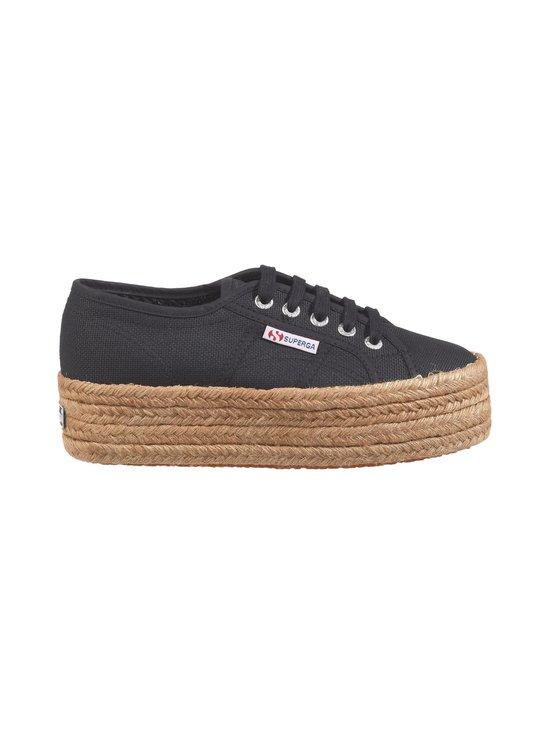 Superga - Cotropew-kengät - 999 BLACK   Stockmann - photo 1