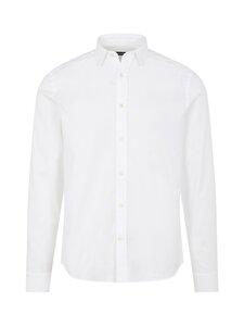 J.Lindeberg - Stretch Oxford Slim Shirt -kauluspaita - 0000 WHITE | Stockmann