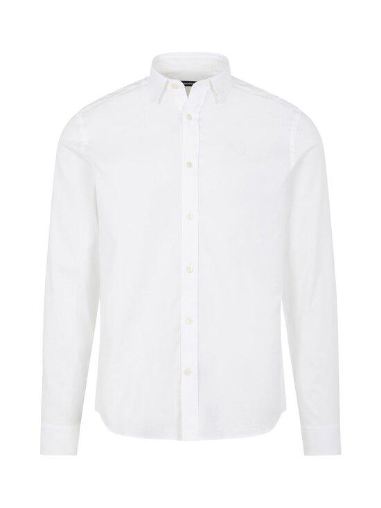 J.Lindeberg - Stretch Oxford Slim Shirt -kauluspaita - 0000 WHITE   Stockmann - photo 1