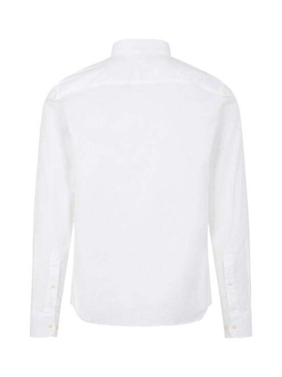 J.Lindeberg - Stretch Oxford Slim Shirt -kauluspaita - 0000 WHITE   Stockmann - photo 2