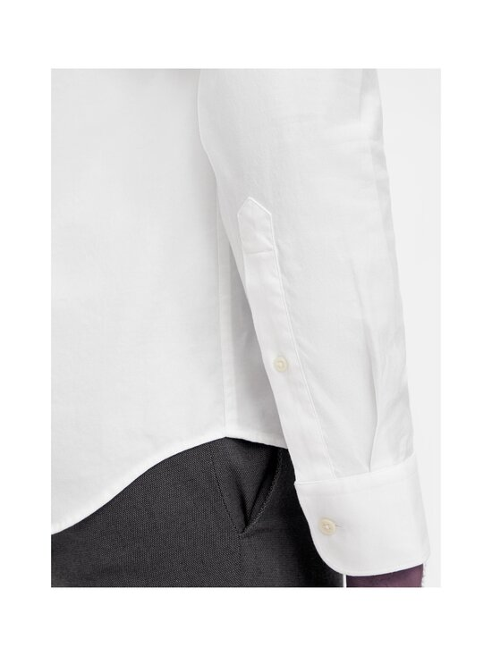 J.Lindeberg - Stretch Oxford Slim Shirt -kauluspaita - 0000 WHITE   Stockmann - photo 7