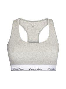 Calvin Klein Underwear Plus - Unlined Bralette -rintaliivit - 020 GREY HEATHER   Stockmann