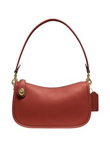 Coach - Swinger Bag -nahkalaukku - B4/RU B4/RUST | Stockmann