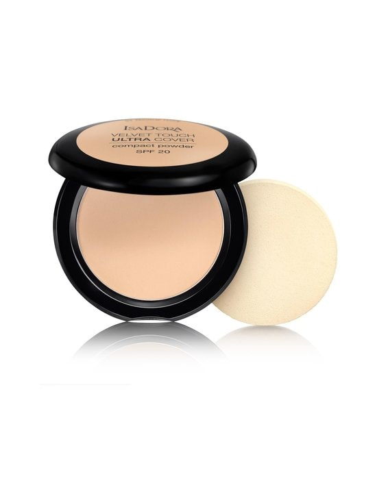 Isadora - Velvet Touch Ultra Cover Compact Powder SPF 20 -kivipuuteri 7,5 g - 61 NEUTRAL IVORY | Stockmann - photo 1