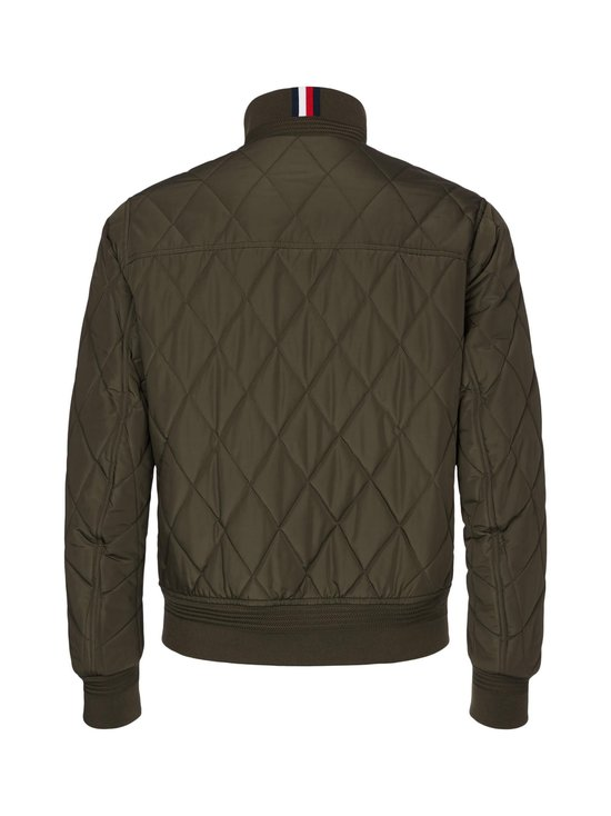 Tommy Hilfiger - Diamond Quilted Bomber -takki - MSE PROCESS GREEN | Stockmann - photo 2