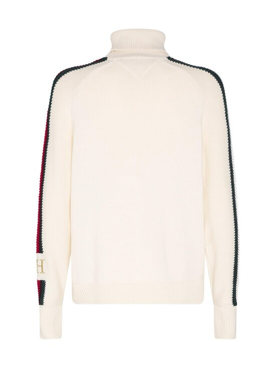 Tommy Hilfiger - Icon Tipped Roll Neck -neule - YBI IVORY | Stockmann - photo 2