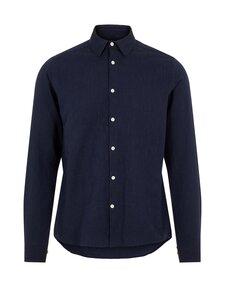 J.Lindeberg - Tailor Pinstripe Slim Shirt -kauluspaita - 6855 JL NAVY | Stockmann