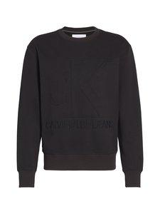 Calvin Klein Jeans - Embossed Fashion Crew Neck -collegepaita - BAE CK BLACK | Stockmann