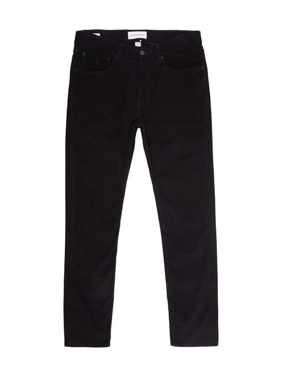 Calvin Klein Jeans - Corduroy 5 Pocket Pant -vakosamettihousut - BEH BLACK | Stockmann - photo 1