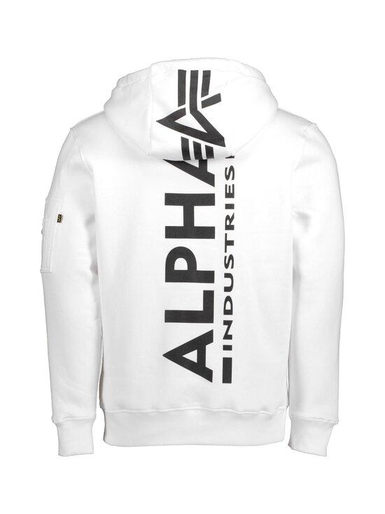 Alpha Industries - Back Print Hoody -huppari - 09 WHITE | Stockmann - photo 2