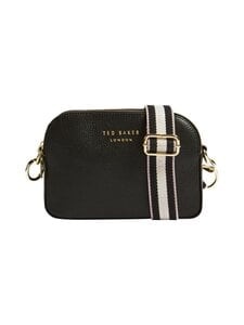 Ted Baker London - Amerrah Branded Webbing Strap Camera Bag -nahkalaukku - 00 JET-BLACK | Stockmann