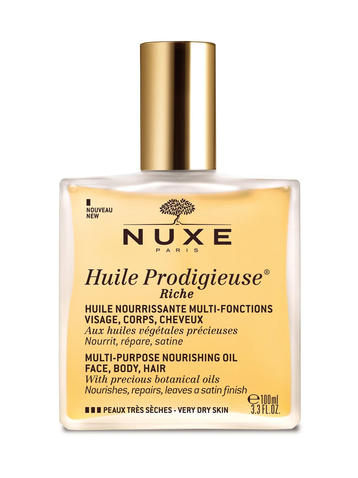 Nuxe – Rêve Huile Prodigieuse Multi-Purpose Nourishing Dry Oil Riche -öljy 100 ml